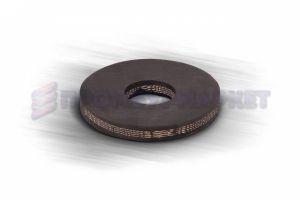 Шайба резиновая наборного поршня 120 мм