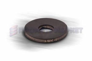 Шайба резиновая наборного поршня 80 мм