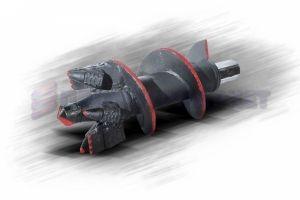 Забурник шнековый 198 мм. II ДЛШ-198-89х5-268-150 МС Ш55 (S10)