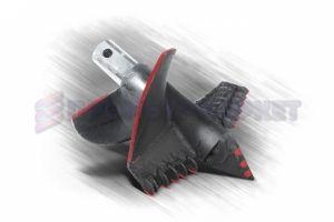 Забурник шнековый 420 мм. II ДЛШ-420-114х8-200-400-Рп3-Л125-Т90-S10